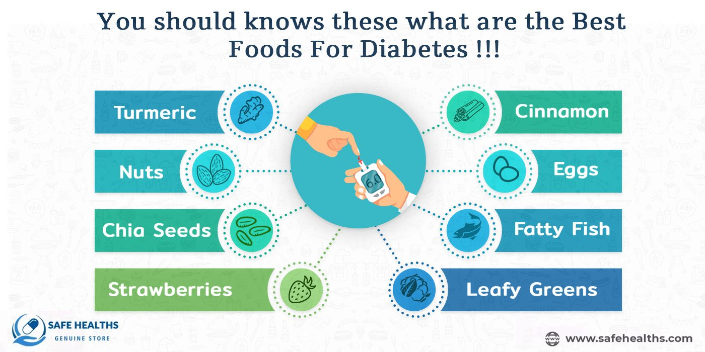 You should knows these what are the best foods for diabetes !!!