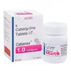cabergolin 1mg cabanex 1 mg